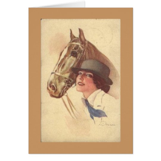 Karte der Pferdeliebhaber-Mutter Tages