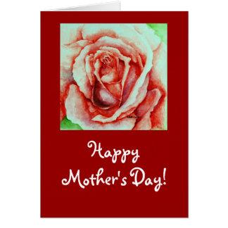 Karte der Rosen-Mütter Tages