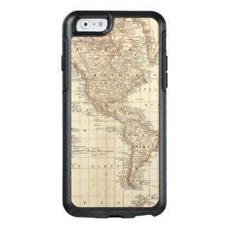 Karte der Welt 2 2 OtterBox iPhone 6/6s Hülle