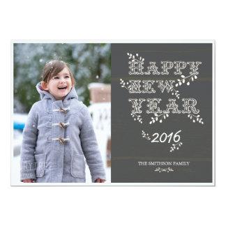 Karte des glücklichen neuen Jahres u. des neuen