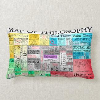 Karte des Philosophie-Kissens Lendenkissen