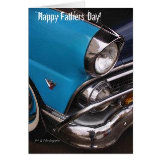 Karte: Glücklicher Vatertag! Grußkarte