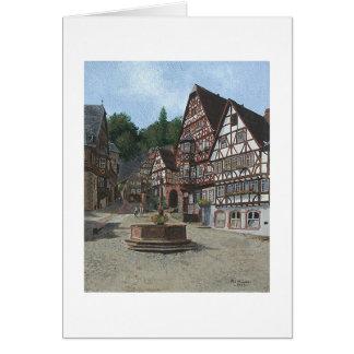 """Karte Pauls McGehee """"Miltenburg, Deutschland"""""""