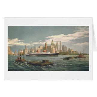 """Karte Pauls McGehee """"New York"""""""