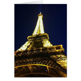 Karte Post- Eiffel-Umdrehung