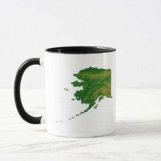 Karte von Alaska 2 Tasse