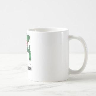 Karte von Bangladesch Kaffeetasse
