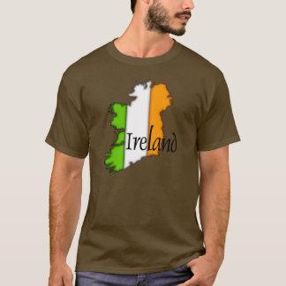 Karte von Irland T-Shirt