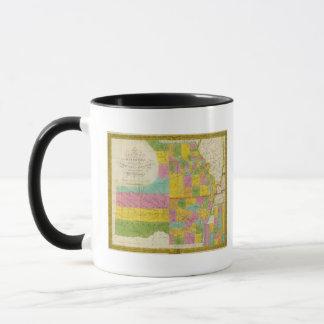 Karte von Missouri Tasse