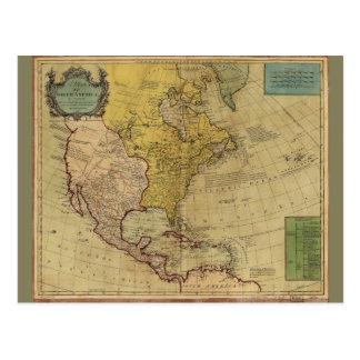 Karte von Nordamerika (1765)