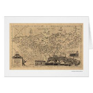 Karte von Palästina durch Tilemann Stella 1600