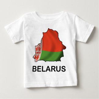 Karte von Weißrussland Baby T-shirt