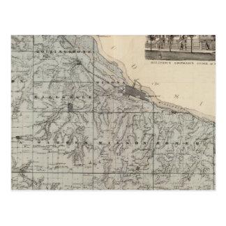 Karte von Winona County, Minnesota