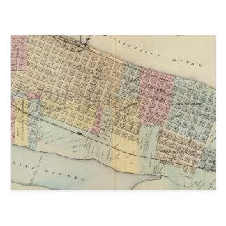 Karte von Winona, Minnesota