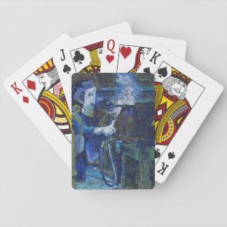 """Karten à jouer """"Mann bei der Arbeit """" Spielkarten"""