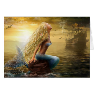 Karten-Meerjungfrau (option2) Karte