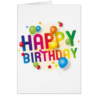 Karten Peter Bayfields - alles Gute zum Geburtstag