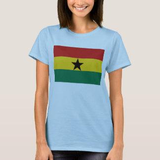 Karten-T - Shirt Ghana-Flaggen-x