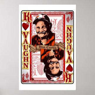 Kartendruck Familie Vaughn Wiedersehen-Dons Curtis Poster