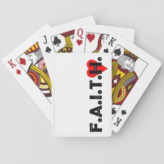 Kartenstapeles Spielkarten