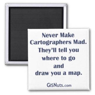 Kartograph-wütender Magnet