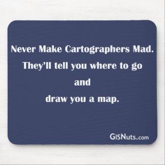 Kartographen wütendes Mousepad