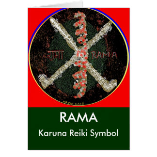 Karuna Reiki Symbol - RAMA Karte