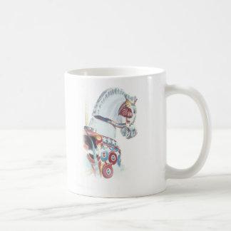 Karussell-Pferd (extravagant) Kaffeetasse