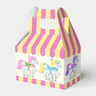 Karussell-Ponys Geschenkkarton