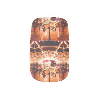 Karussell reitet Nagel-Kunst Minx Nagelkunst
