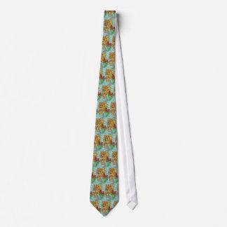 Karussell-Seelöwe-Hippokamp-Fantasie-Kunst Individuelle Krawatten