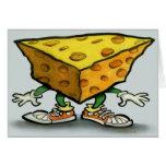 Käse-Hauptkarte Grußkarten