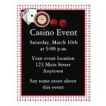 Kasino-Ereignis Flyer