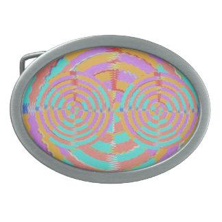 KASINO Rad - Symbol des Vermögens Ovale Gürtelschnallen