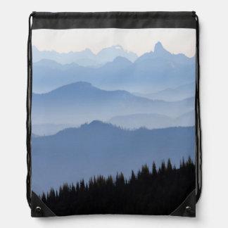 Kaskaden-Berge des Mount Rainier Nationalpark-| Sportbeutel
