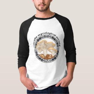 Kaskaden-mykologischer Gesellschafts-Igels-T - T-Shirt