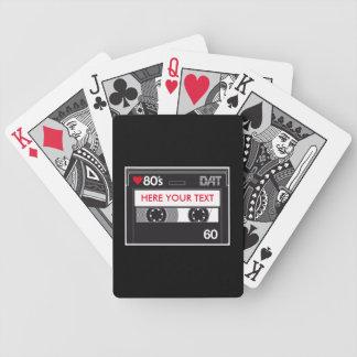 Kassette 80 ' s Custom Love Edition Bicycle Spielkarten