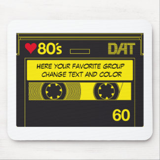 KASSETTE LOVE 80´s Mousepad