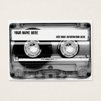 Kassette Mixtape Visitenkarten
