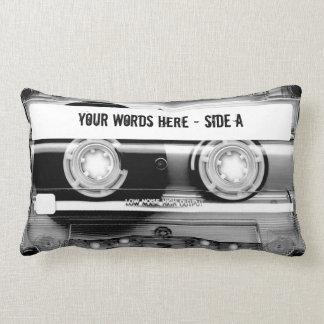 Kassetten-Band Mixtape (personalisiert) Zierkissen