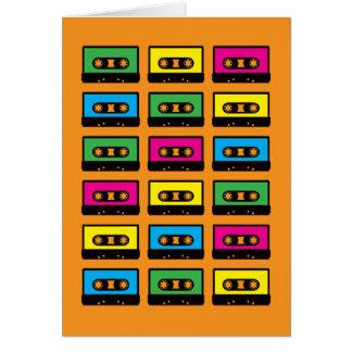 Kassetten-Gruß-Karte Grußkarte