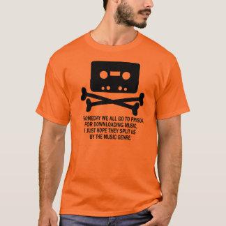 KASSETTEN-PIRATEN-SCHÄDEL T-Shirt