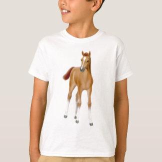 Kastanien-Fohlen scherzt T - Shirt