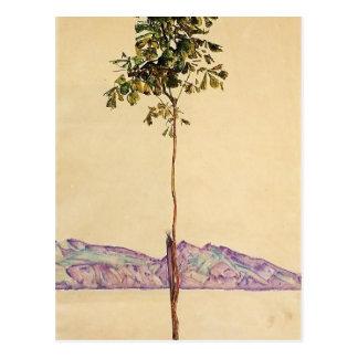 Kastanienbaum Egon Schiele- bei Bodensee Postkarte