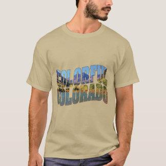 Kastanienbraune Bell und sehr buntes Colorado! T-Shirt