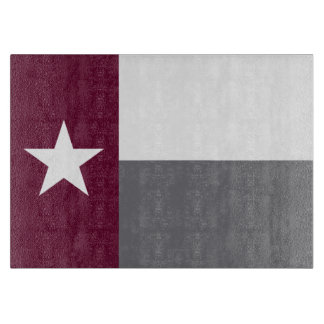 Kastanienbraune Texas-Flagge