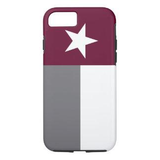 Kastanienbraune Texas-Flagge iPhone 8/7 Hülle