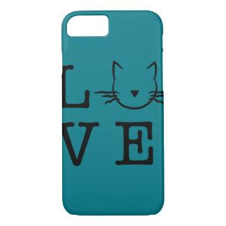 Kasten des Telefons 6/6s der Katzen I der Liebe I iPhone 8/7 Hülle