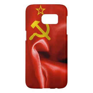 Kasten die Sowjetunions-Flaggen-Samsung-Galaxie-S7