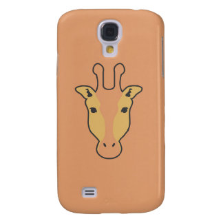 Kasten Giraffe oranye Samsungs-Galaxie S4 Galaxy S4 Hülle